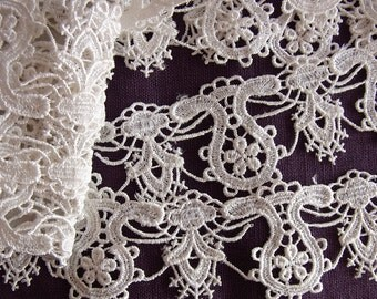 300cm Beautiful Chemical Lace Trim from Japan