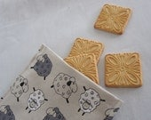 Reusable sandwich bag (SHEEPS) - good starter for sandwich and snacks - Be ECO friendly - READY TO SHIP