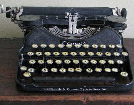 dating smith corona skrivemaskine