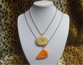 Cheese and Cracker Best Friend Necklaces