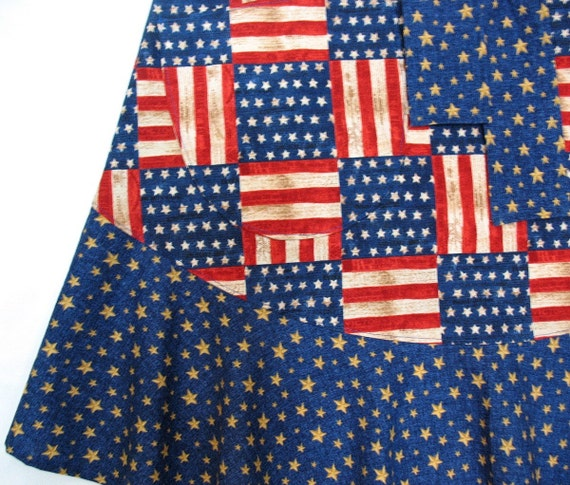 Red White Blue American Flag Clothing Patriotic Americana