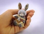 Miniature bunny PATTERN Lady Perfection - emailed PDF - by Tatiana Scalozub