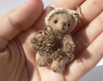 Miniature bear PATTERN, love teddy bear pdf pattern, homemade teddy bear sewing pattern, stuff toy tutorials, cute teddy bears workshop