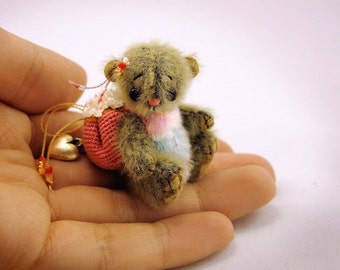 Miniature bear PATTERN Mosya - emailed PDF - by Tatiana Scalozub