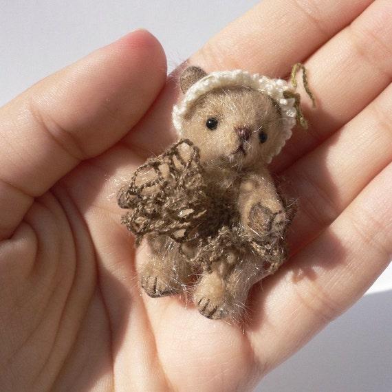 Miniature bear PATTERN, love teddy bear pdf pattern, homemade teddy bearsewing pattern, stuff toy tutorials, cute teddy bears workshop