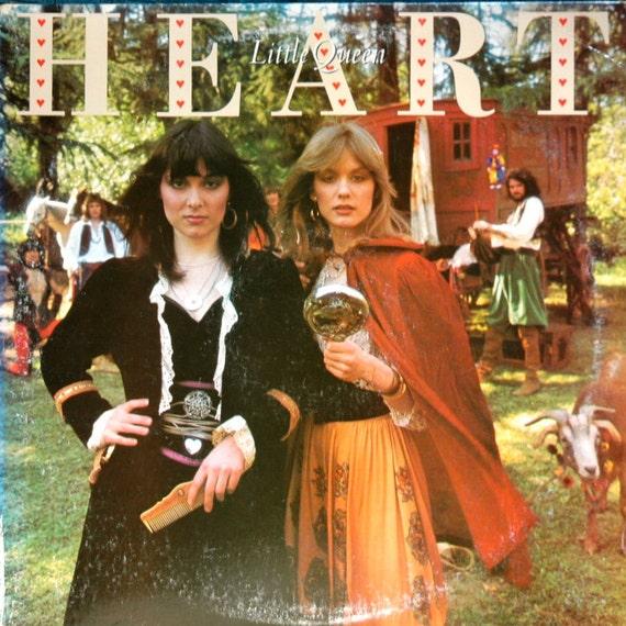 Vintage Vinyl Record... HEART... Little Queen (1977)