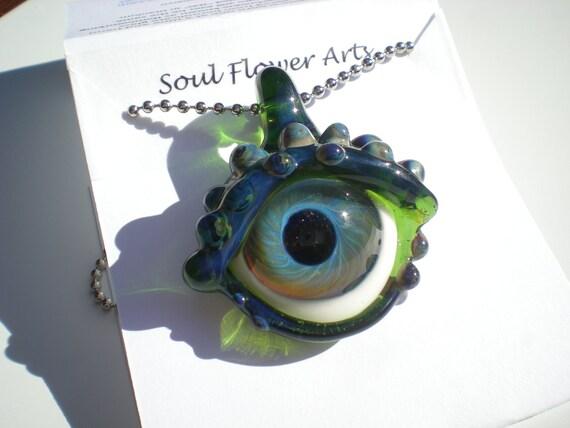 Glass Dragon Eye - Green
