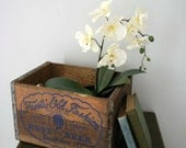 Vintage Frostie Old Fashion Rootbeer Wooden Crate