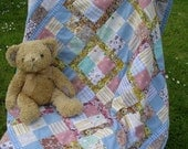 Quilt Patchwork Baby by HecketyBeckety on Etsy