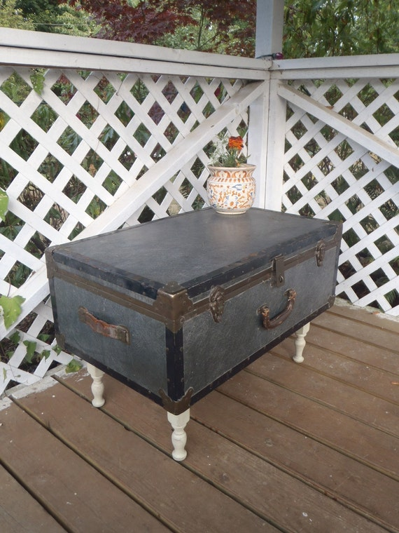 Shipping Included Luvable Luggage Trunk Table Coffee Table