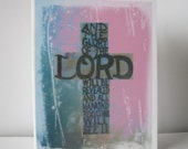 Cross Encouragement Cards - The Glory of the LORD Notecards - 6 Card Set, Religious, Christian. Inspirational Card, Original Art