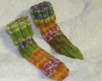 Ribbed Knitted Socks size 12-18 mos