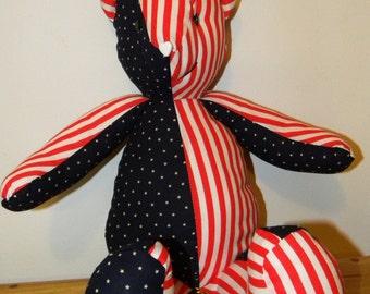Patchwork Americana Teddy