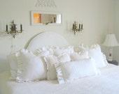 The Britta Ruffle Pillow