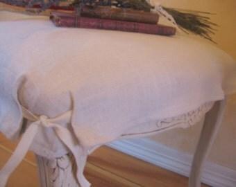 french farmhouse chair slipcover