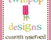 Custom Order for Khaliah
