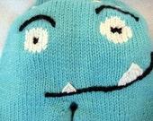 Monster Face Buttknit Longies - Reserve for Kholzer44