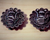 Vintage Sterling Silver Shoe Clips