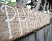 Custom Order Driftwood Signs from Nova Scotia - Wedding, House, Welcome, Home Decor, Outdoor, Indoor