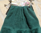 Green/Scripture Kitchen Towel Dress