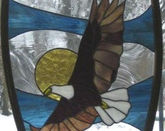 Eagle Stained Glass Snowshoe