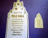 Mini Witch or Wizard Yule Ball Ticket Replica Prop for American Girl Dolls