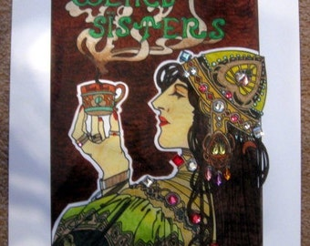 Weird Sisters Art Deco Poster Replica Prop Wizarding