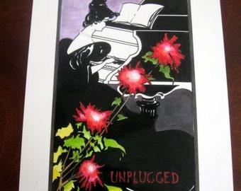 Weird Sisters Concert Poster Replica Prop - Three Broomsticks 1995 - Wizarding