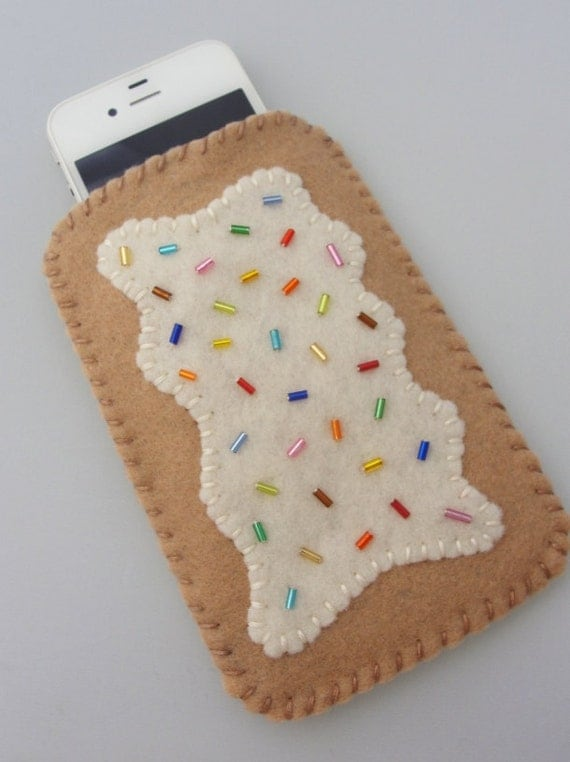 Phone Case - Blueberry Toaster Pastry - iPhone / Droid / Blackberry