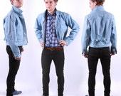 Evisu Genes Denim Jacket for Men / Mens Jeans Jacket / Designer /  M