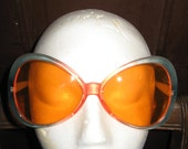 1970  Dr    Peepers     FUNKY    oversized    FRAME  sunglasses