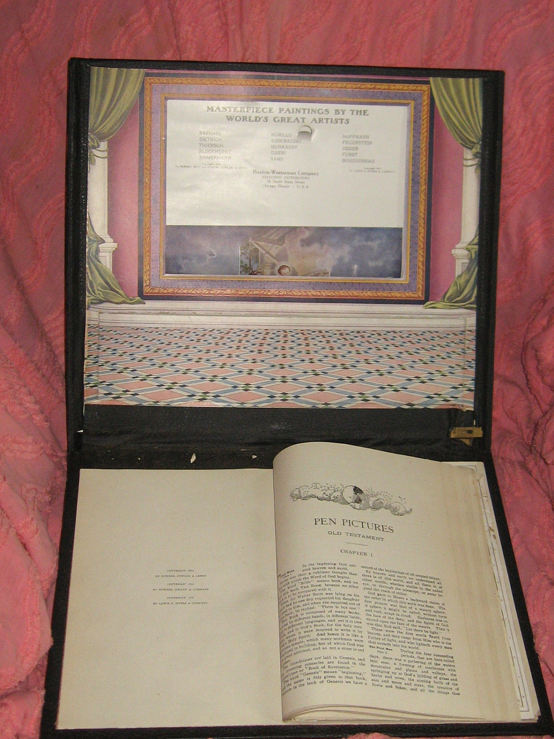 The Royal Scroll 1896 Victorian Bible Study Religious