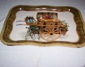vintage coca cola garden basket tray  1958