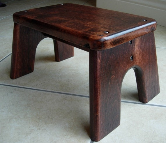 Items similar to Wood Step Stool - Red Mahogany Stained Wood - Tip-resistant Step Stools by Laffy Daffy on Etsy on Etsy & Items similar to Wood Step Stool - Red Mahogany Stained Wood - Tip ... islam-shia.org