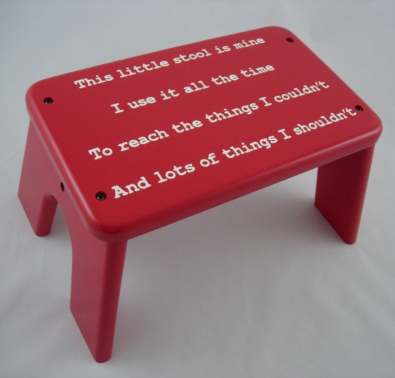 This Little Stool Wooden Step Stool Children S By Laffydaffy