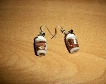 Mocha Fudge Frappe Earrings