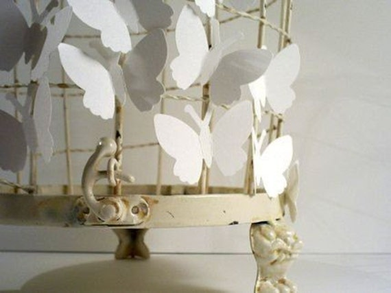 Wedding White Paper Butterfly 100 Pack