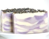 SALE - French Lavender All Natural Goat's Milk Soap With Shea Butter