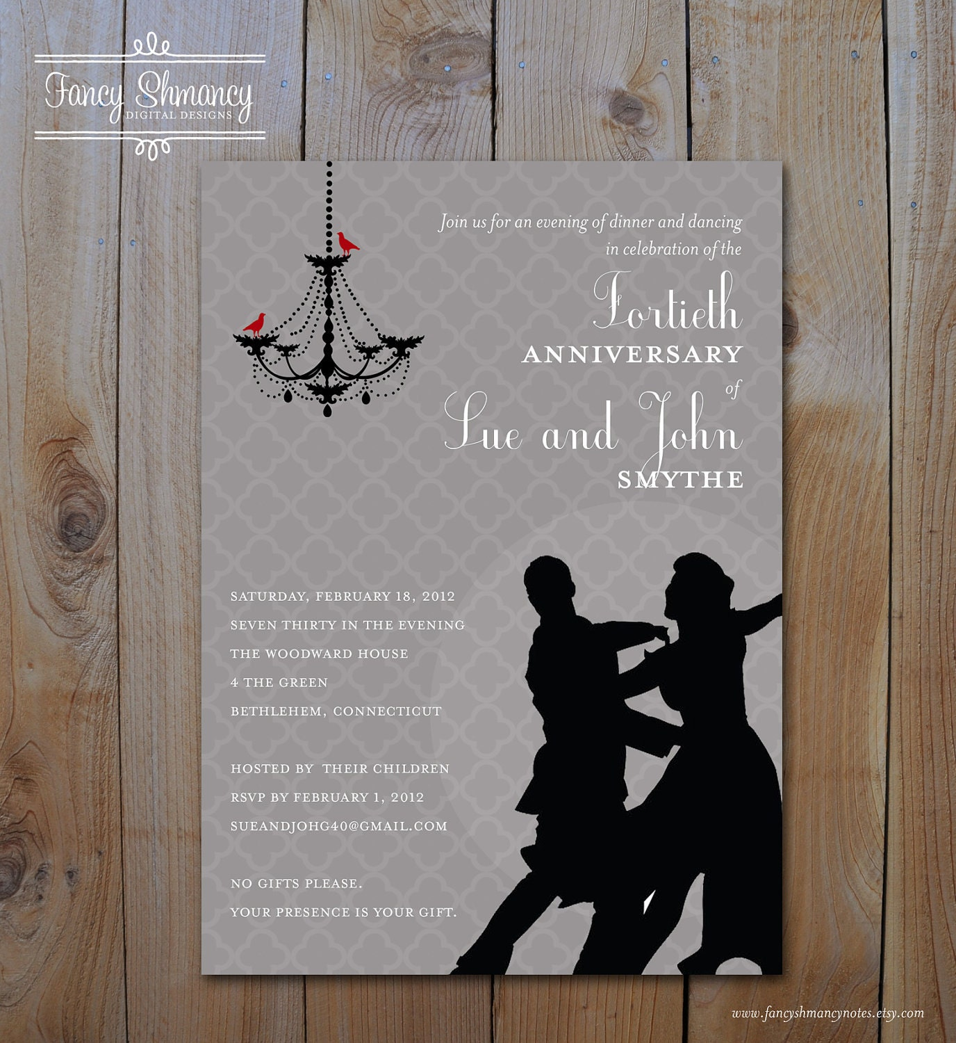 After Wedding Party Invitation Wording as luxury invitations example