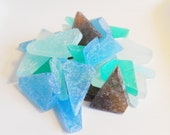 10 pounds of seaglass soap