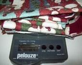 8.3 oz Snowman Cotton Fabric Remnants