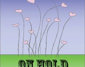 HOLD for EMILIE - Swirly Decal Large