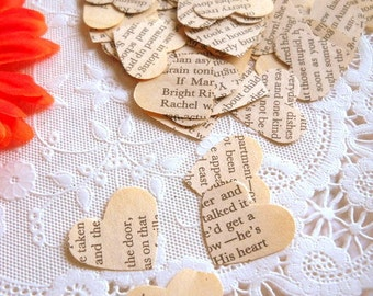 Anne of Green Gables Heart Confetti / 500 Pieces  / Wedding Decor / Party Confetti