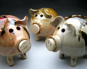 Ceramic Piggy Bank - Made to Order