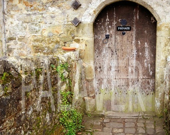 Original Photograph Tudor Doorway