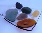 River Rocks in Glass     535