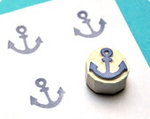 Anchor - Special Summer hand carved rubber stamps
