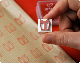 Christmas special hand carved rubber stamp gift pack