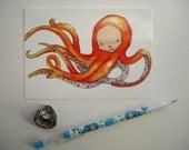 Postcard- Single- Adora the Octopus Princess