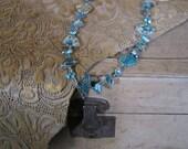 Aqua Terra Jasper and Pearl Necklace